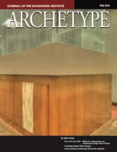 Cover image of fall 2016 issue of Archetype