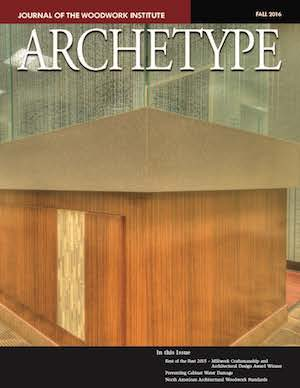 Cover image of the fall 2016 issue of Archteype