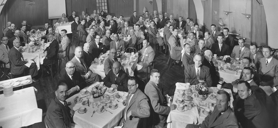 First anniversary meeting of WIC in 1952