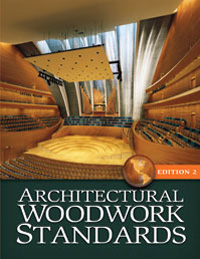 Cover image of the Architectural Woodwork Standards Edition 2