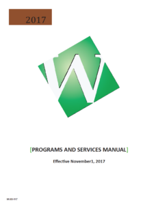 Cover of the Woodwork Institute 2017 Programs and Services manual