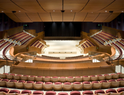 Image of a the Soka University Performing Arts Center