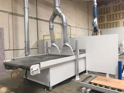 Machinery at S&H Cabinets