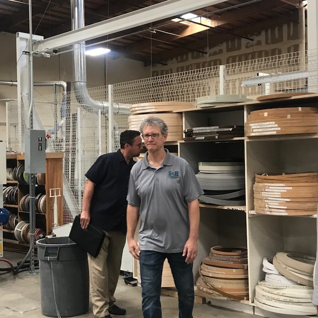 Mike Hansen of S&H Cabinets